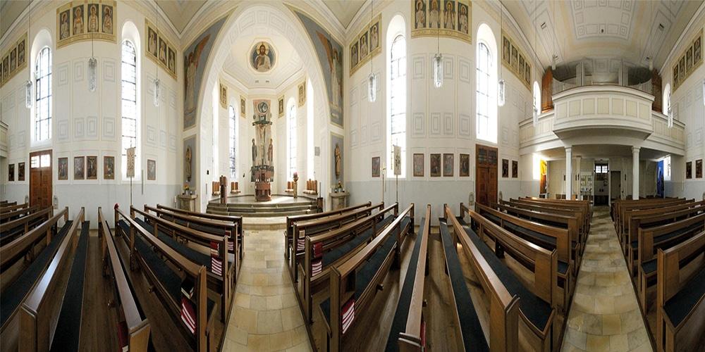 Panorama Kirche Aichhalden