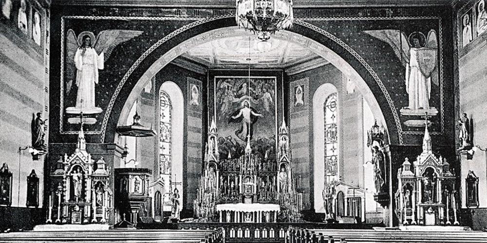 St. Michael in den 30er-Jahren