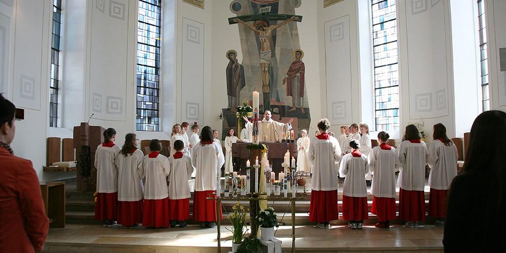 Hochgebet der Messe