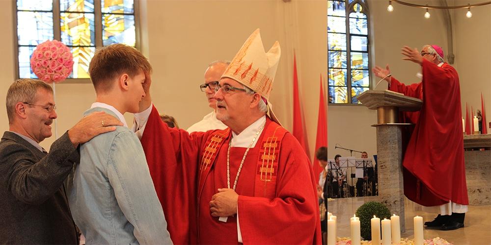 Bischof Fürst 2014 in Winzeln