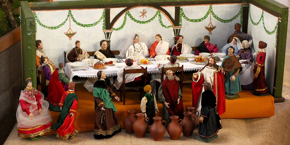 Weihnachstkrippe | Hochzeit zu Kana