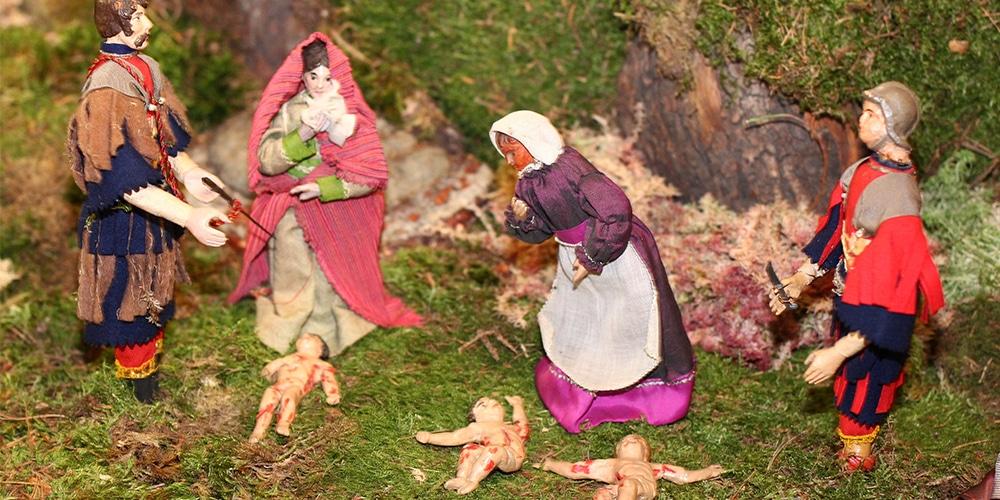 Weihnachstskrippe | Kindermord zu Betlehem