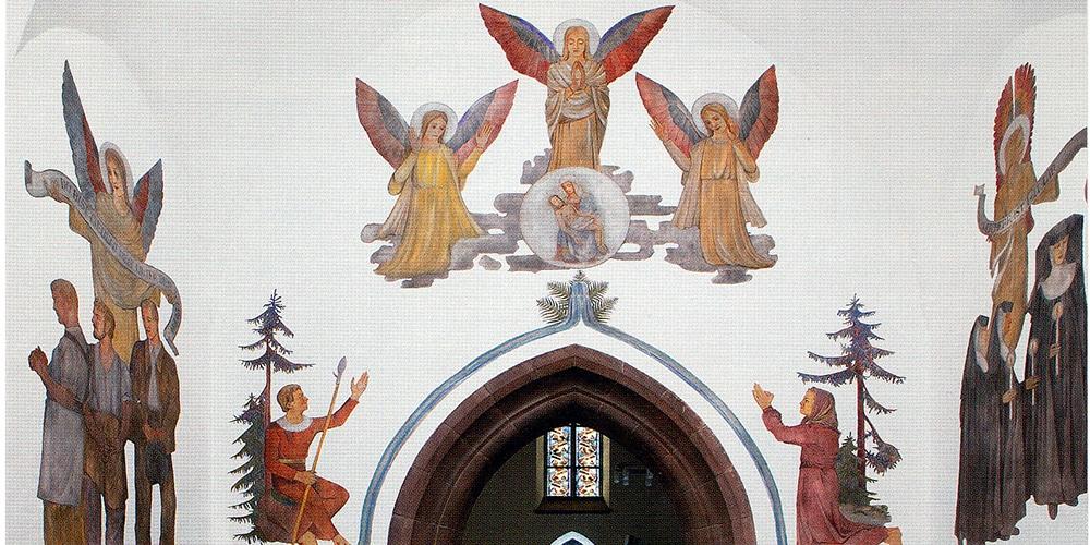 Gandenkapelle Wandmalerei