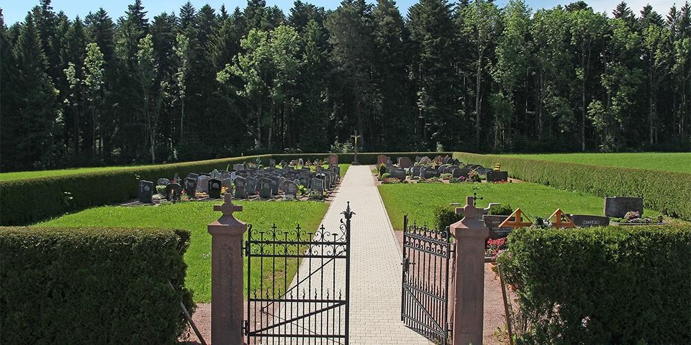 Kirchlicher Friedhof