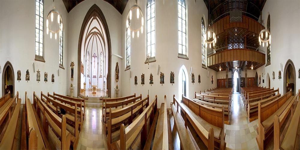 Kirche Panorama
