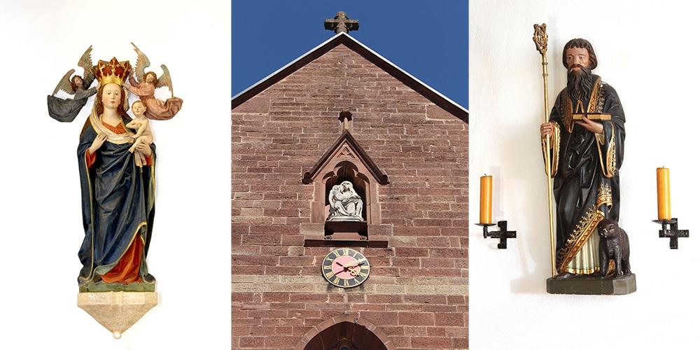 St. Gallus mit Wallfahrtsbild