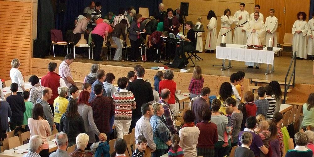 Messe Kirchengemeindefest