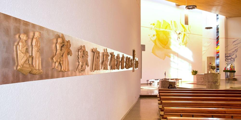 Kreuzweg und Altar | neu