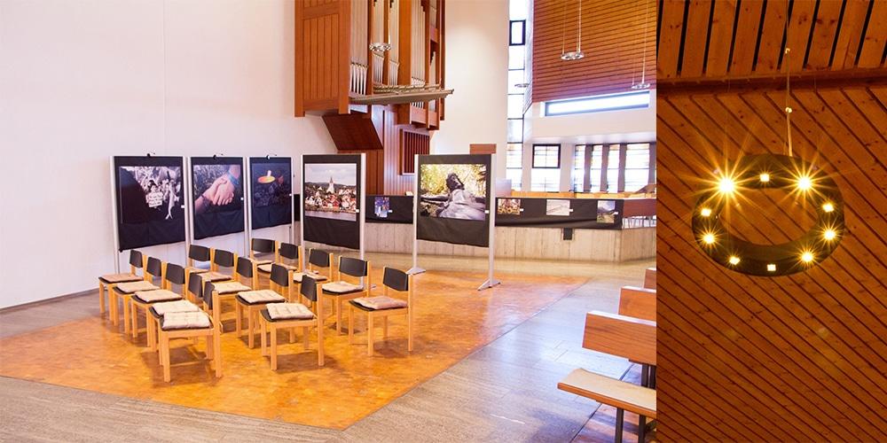 Flexibler Bereich vor Orgel