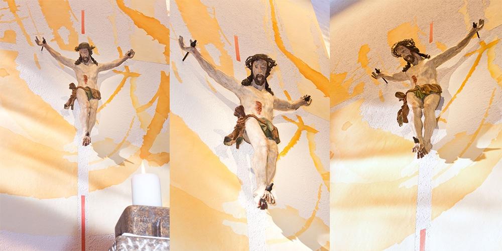 Christusdetail | nach Renovierung