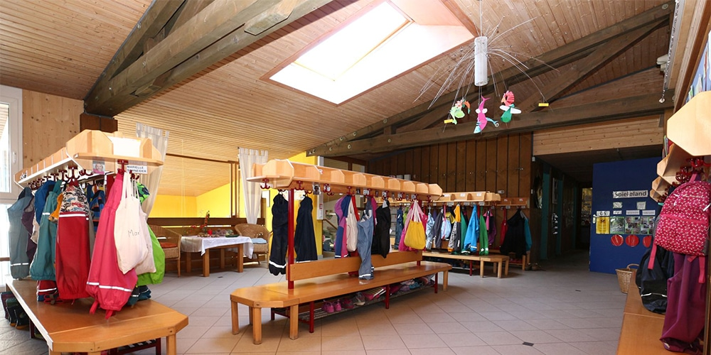 Foyer mit Garderobe