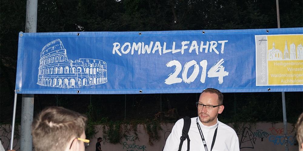 Romwallfahrt 2014