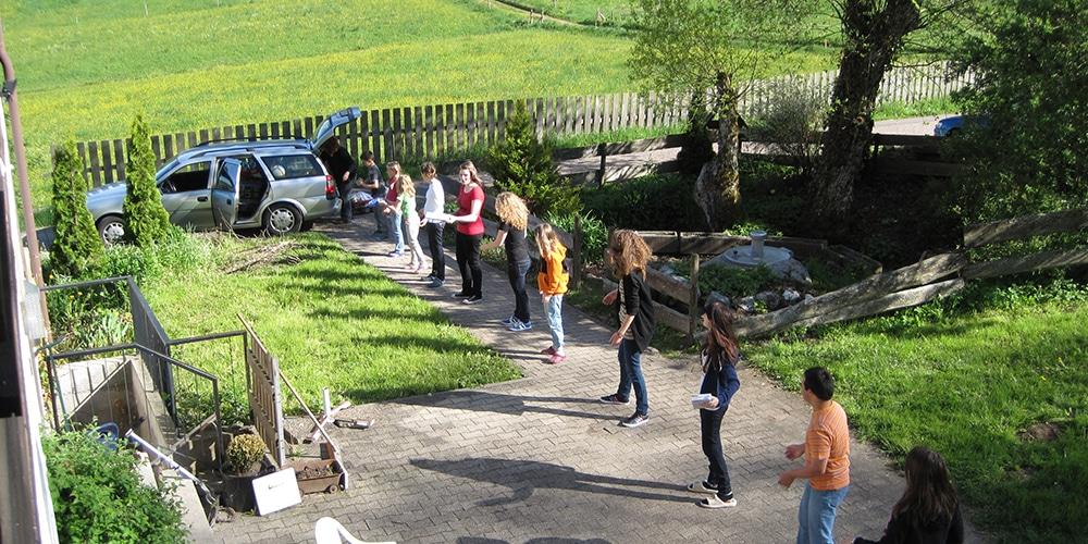 Miniwochenende Aichhalden 2012 | Ausladen