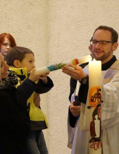 Empfangt das Licht Christi!