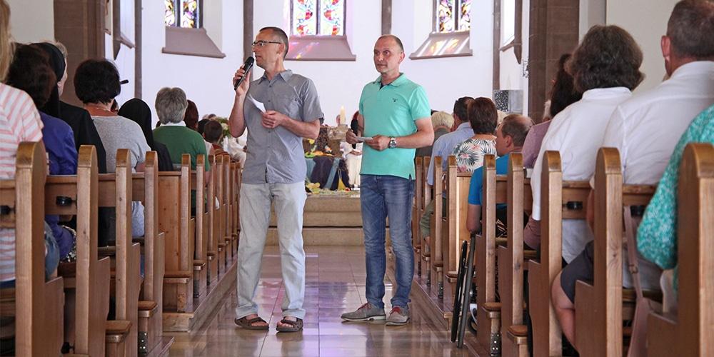 Petrus und Paulus im Gespräch